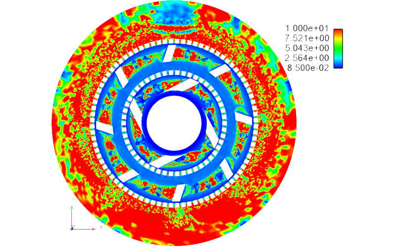 Simulations of irreversible viscosity build via an energy-based  continuum damage model.